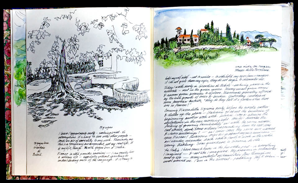 jauneth-skinner-©-boboli-garden-illustrated-journal-pages-florence-italy