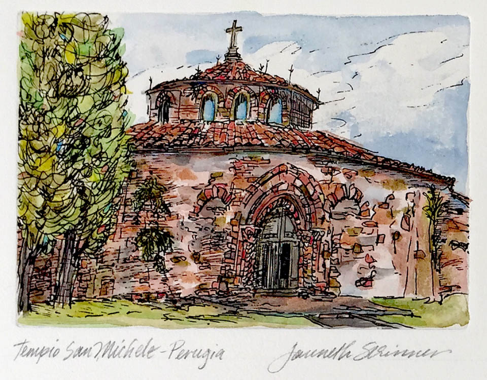 jauneth-skinner-©-tempio-san-michele-etching-w-hand-coloring-perugia