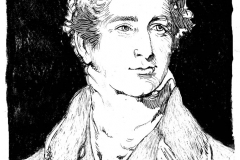jauneth-skinner-©-Sir-R-Peel-pen-and-ink-portrait-illustration
