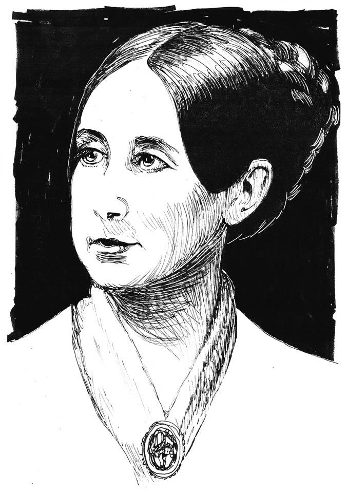 jauneth-skinner-©-Dix-D-pen-and-ink-portrait-illustration