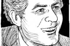 jauneth-skinner-©-Herzberg-F-pen-and-ink-portrait-illustration