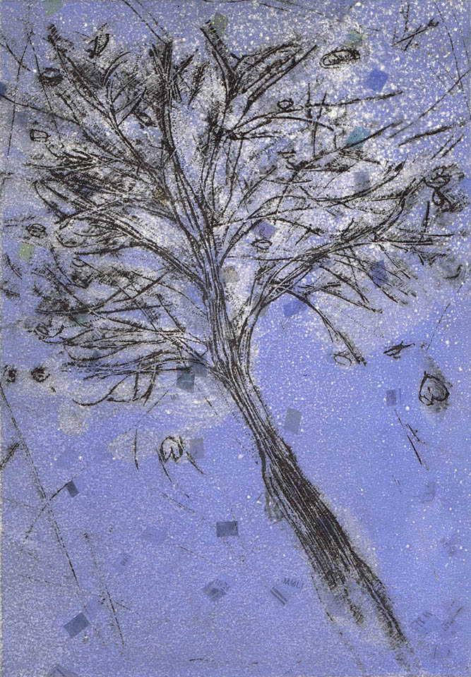 jauneth-skinner-©-flying-w-chagall-intaglio-etching-trees